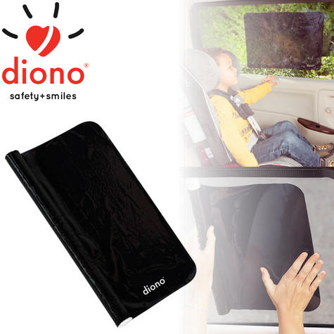 Diono Cool Shade Static Cling Sun Protection For Baby | Removable & Reuseable | New Thumbnail 1