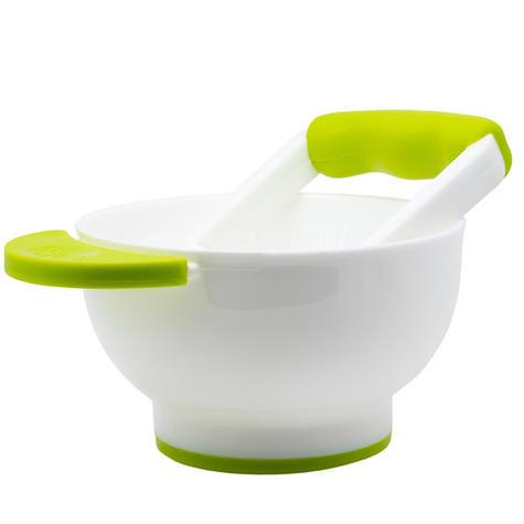 Annabel Karmel Instant Baby Food Masher & Bowl|BPA Free|Dishwasher Free|0-6 M| Thumbnail 1