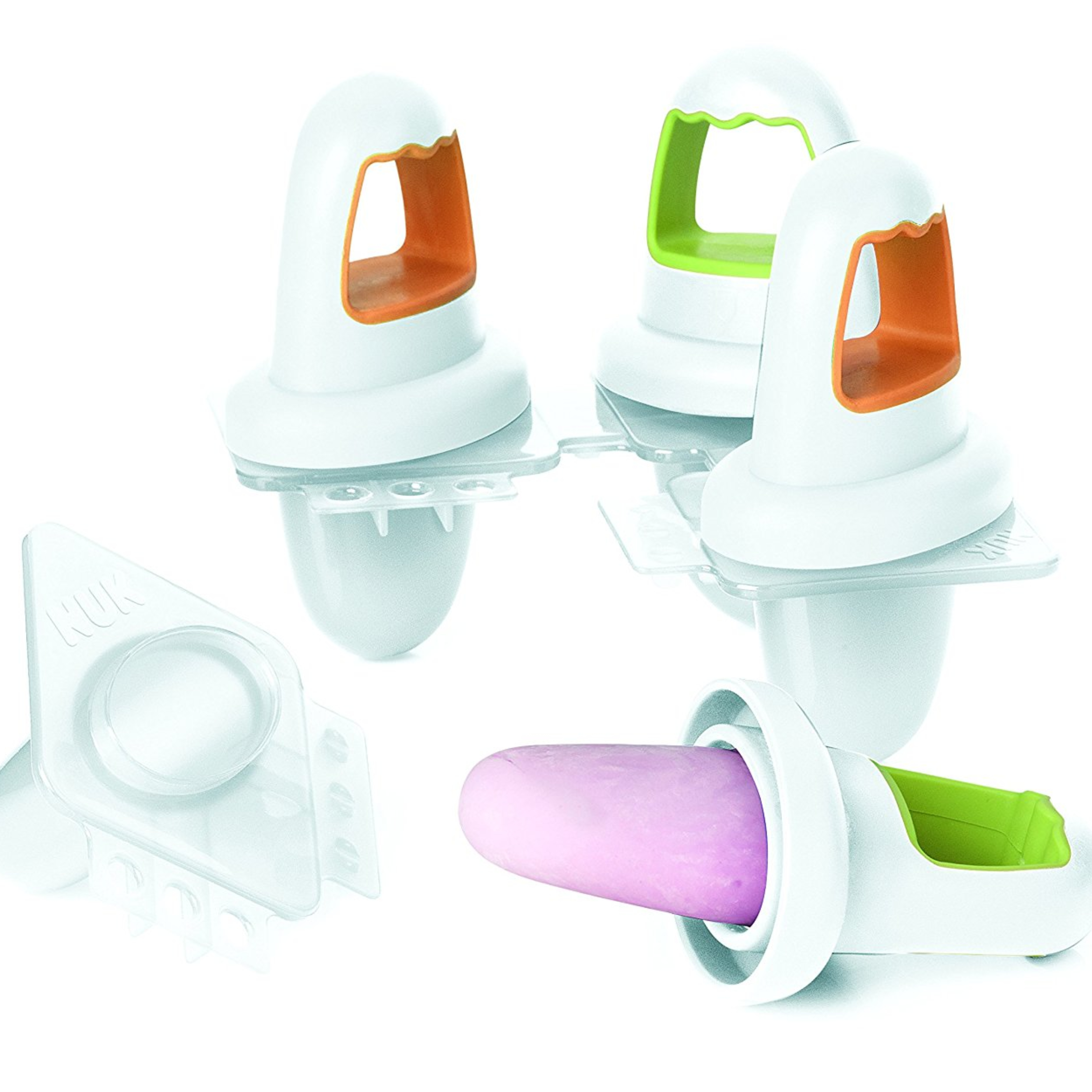 Annabel Karmel Mini Ice Lolly Moulds Set|Fruit Lollies|Baby Feeding Accessory|