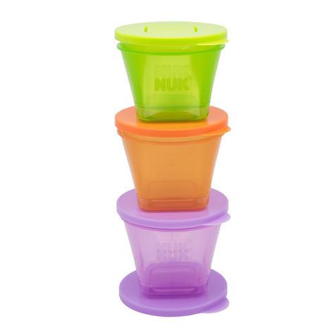 Annabel Karmel 6 Stackable Food Pots|Baby Food Storage Box|BPA Free|Pack Of 6| Thumbnail 2