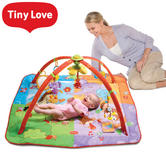 Tiny Love Gymini Move & Play Gym | Ideal For Tummy Time | Baby Paly Mat | Hanging Toys | New