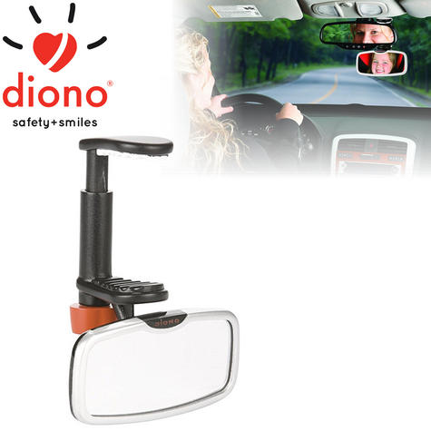 Diono See Me Too Adjustable Backseat Mirror In Car To Monitor Baby | Easy To Use Thumbnail 1