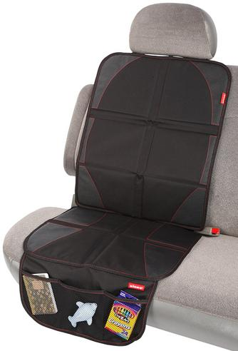 Diono Ultra Mat Car Seat Protector | Handy Pocket In Front For Travel Accessories Thumbnail 3