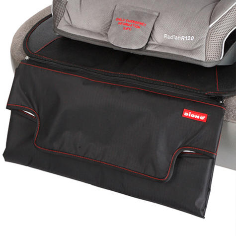 Diono Super Mat Deluxe Double Layer Seat Protector With Zip Off Changing Mat | New Thumbnail 4