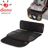 Diono Super Mat Non-Slip Car Seat Protector | Handy Front Pocket | Easy To Effective