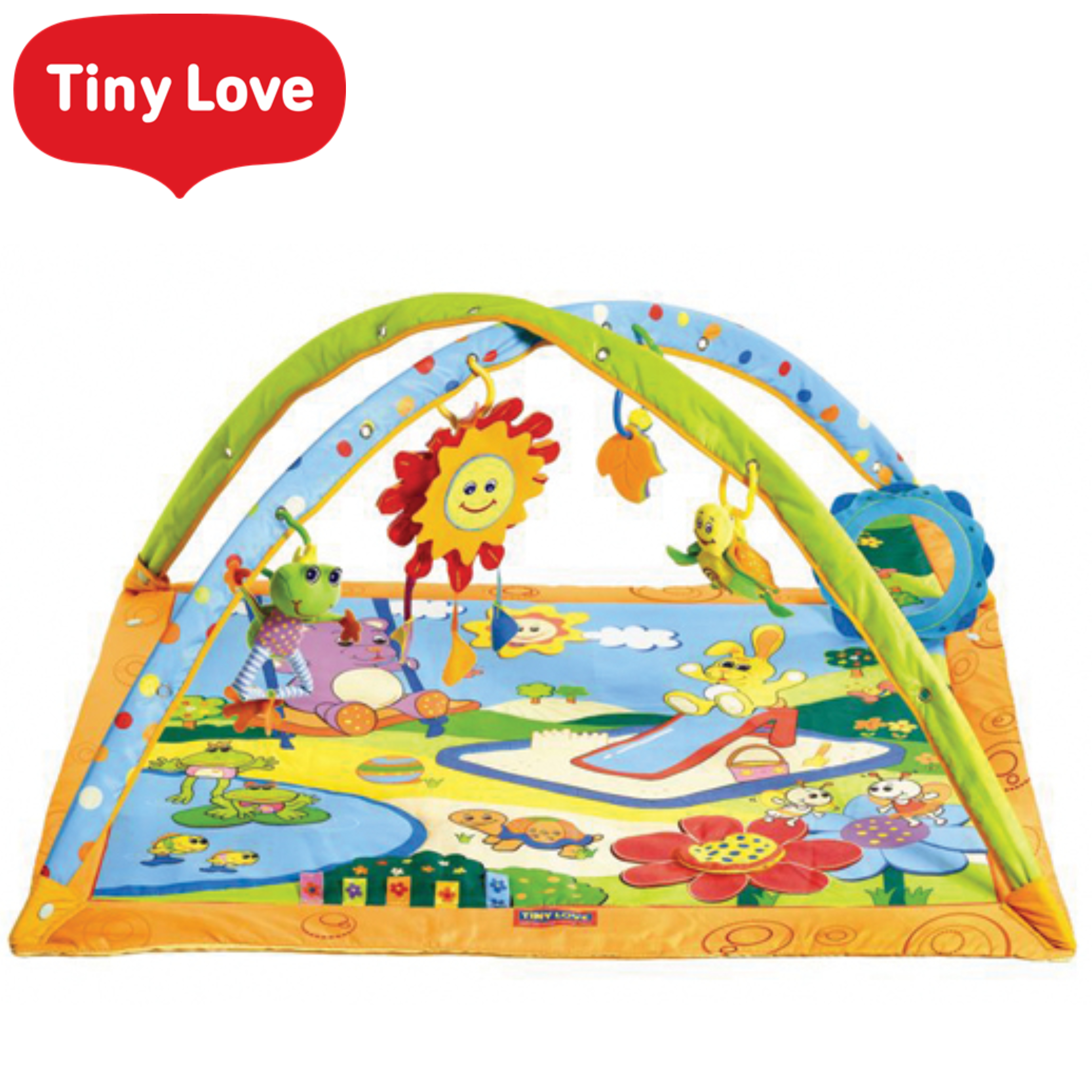 Tiny Love Gymini Sunny Day Play Gym | Musical Toys | Baby Tummy/Play-Time Mat | Mirror | New