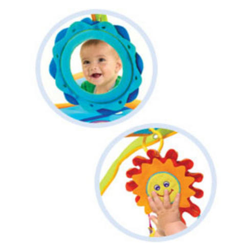 Tiny Love Gymini Sunny Day Play Gym | Musical Toys | Baby Tummy/Play-Time Mat | Mirror | New Thumbnail 7