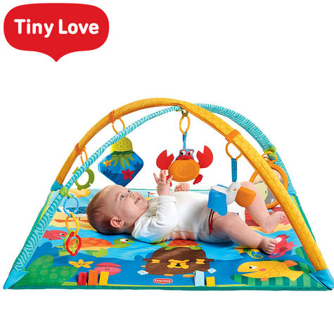 Tiny Love Gymini Under the Sea Baby Playtime Gym/Mat | Sound & Colourful | Ocean Toys | New Thumbnail 1