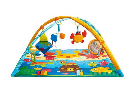 Tiny Love Gymini Under the Sea Baby Playtime Gym/Mat | Sound & Colourful | Ocean Toys | New Thumbnail 2