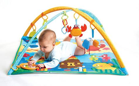 Tiny Love Gymini Under the Sea Baby Playtime Gym/Mat | Sound & Colourful | Ocean Toys | New Thumbnail 3