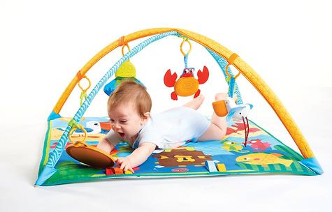 Tiny Love Gymini Under the Sea Baby Playtime Gym/Mat | Sound & Colourful | Ocean Toys | New Thumbnail 4