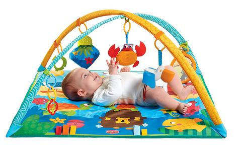 Tiny Love Gymini Under the Sea Baby Playtime Gym/Mat | Sound & Colourful | Ocean Toys | New Thumbnail 5