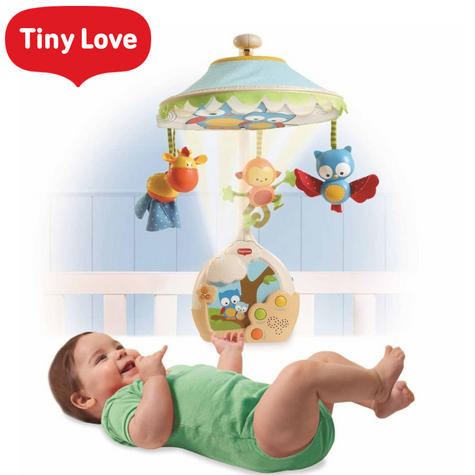 Tiny Love Magical Night Mobile/Projector/Night-Light For Baby/Toddler | With Music | New Thumbnail 1