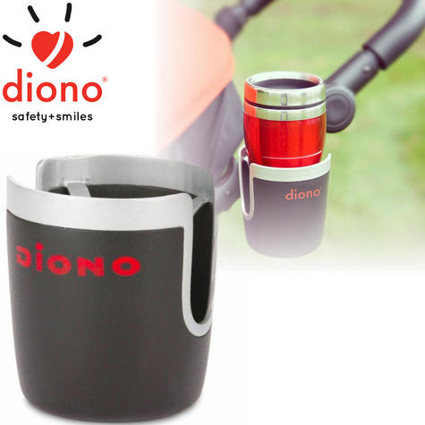 Diono Baby/Child Pram Stroller/Pushchair Universal Cup Holder | Self-Leveling | New Thumbnail 1