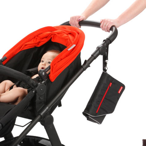 Diono Travel Baby/Toddler Nappy Changer | Comfortable Padded Mat | Unisex Design | New Thumbnail 3