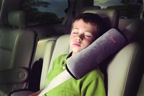 Diono Child/Toddler's Car Seatbelt Soft & Comfy Micro-Fleece Pillow | Washable | New Thumbnail 4