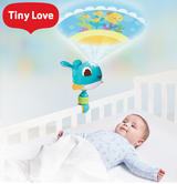 Tiny Love Cody Take-Along Projector Soother Blue | 360 Degree Rotation | With Music | New
