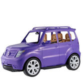 Barbie Glam SUV Toy Car Doll Vehicle Funny Toy Seats Open Roof Purple 3 Years + 