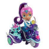 Shimmer and Shine Zeta's Scooter Baby Doll Playing Toy Kid's Funny Activity 3Y +