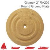 "Glomex RA202 Round Ground Plate - 128mm|5"" Diameter