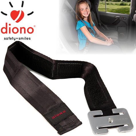 Diono Sure Fit Seatbelt Positioners For Safety Of Your Baby/Child | Easy To Attach Thumbnail 1