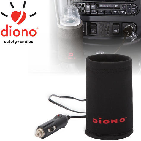 Diono Warm 'n Go Deluxe Plug-In Car Insulated Travel Bottle Warmer For Baby/Kids Thumbnail 1
