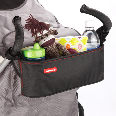 Diono Buggy Buddy Stroller Organiser | Storage Bag Have Zipper Pocket & Cup holder Thumbnail 3