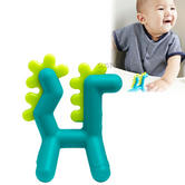Boon GROWL Silicone Teether Dragon|Multiple Hardness Teething|0-12 M|