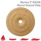"Glomex RA206 Round Ground Plate - 55mm|2"" Diameter
