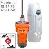 Mcmurdo SmartFind E8 EPIRB - Auto Float Free|72 MEOSAR|406 & 121.5 MHz|Marine Use