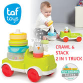 Taf Toys Crawl & Stack 2 In 1 Colourful Truck|Creative Activity Kid's Toy|9m +|