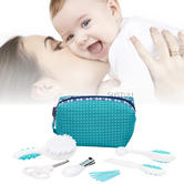 Safety 1st Essential Baby Grooming Indoor & Outdoor Kit|6 Tools|Travel Case|
