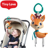 Tiny Love Rattle Teether Toy Into the Forest Florence Deer | Easy-Grip Pacifier