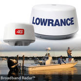 Lowrance 4G Broadband Radome Radar & 10m Cable|165mW High-Speed|IPX6|000-10419-001