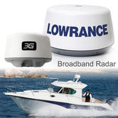 "Lowrance 3G Broadband 19"" Radome Radar & 10m Cable