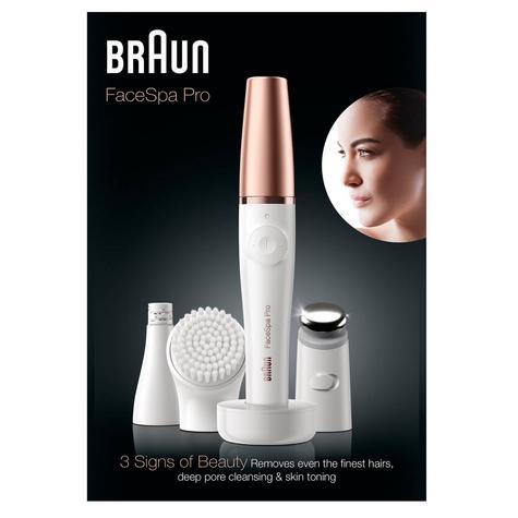 Braun FaceSpa Pro 3 in 1 | Facial Epilation-Cleansing & Skin Toning System | 3 Extra Thumbnail 7