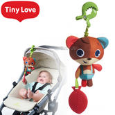 Tiny Love Jitter Stroller Toy Into The Forest Isaac Bear | Easy-To-Grasp Teether