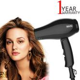 Wahl ZX982 Compact Travel Hair Dryer+Diffuser | 1000W | Quick Drying | Foldable | Black