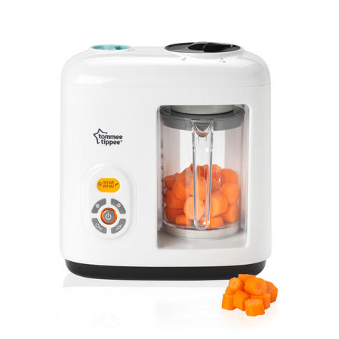 Tommee Tippee Closer to Nature Food Steamer/ Blender | Puree Maker + Freezer Pots | Preserve Nutrients & Flavour Thumbnail 5