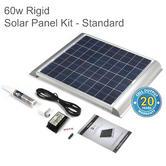 Solar Technology PV Logic 60W Rigid Solar Panel Rooftop Kit - STPMH60|Use MotorHome/ Caravans/ Boats