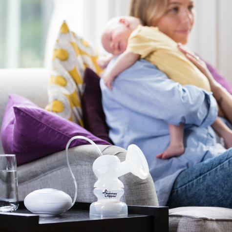 Tommee Tippee Closer to Nature Electric Breast Pump | Home OR On-The-Go | BPA Free | New Thumbnail 8