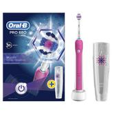 Oral-B Pro 680 3D White Electric Rechargeable Toothbrush | Oral Care | Travel Case