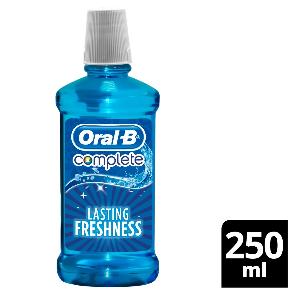 Oral B Lasting Freshness Complete Mouthwash 250ml(Pack of 6) | Arctic Mint flavour