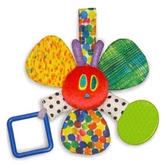 The Very Hungry Colourful Caterpillar|Mirror Teether Rattle|Born Baby Brith Toy|