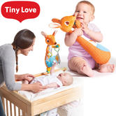 Tiny Love Kangy Kangaroo | Baby Changing Time Toy With Teether,Rattle,Crinkly Ears
