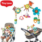 Tiny Love Stroller Arch With Musical Bird Toys & Easy-Grip Teether For Kid's | New