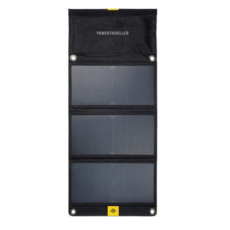 Powertraveller Falcon Series 21W Foldable Solar Panel Charger|Multi-Voltage|LED| Thumbnail 2