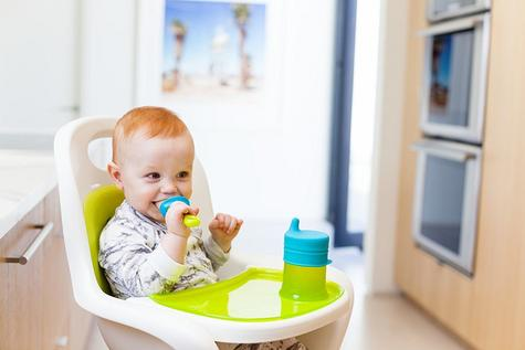 Boon Pulp Green Blue|Silicon Baby Food Feeder|Phthalate PVC BPA Free|6+ Month Thumbnail 4