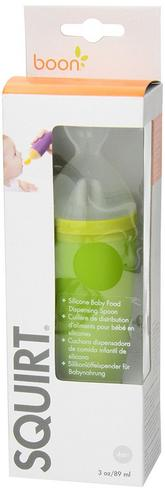 Boon Squirt Spoon | Squeeze Baby Food Feeding | Dispensing Spoon | Feeding Accessory Thumbnail 5