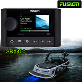 Fusion SRX400 Apollo Marine Zone Stereo with Built-In Wi-Fi|AM/ FM/ Bluetooth|IPx7